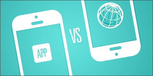 responsive web design or mobile application