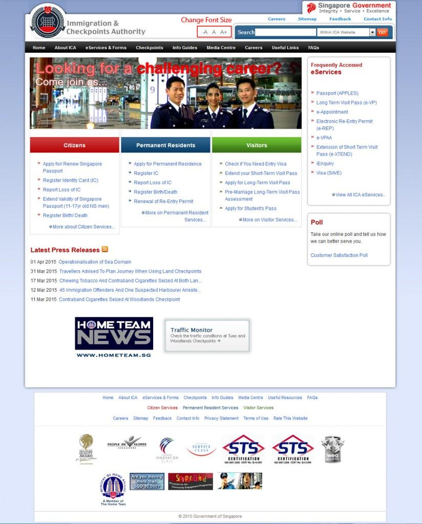 web design ICA year 2008