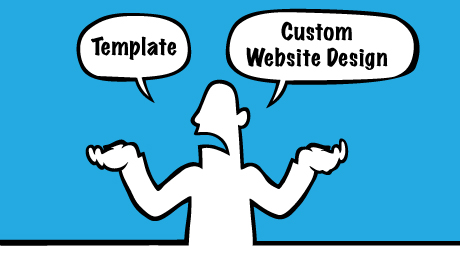 Why professional company does not like to use template to create website?