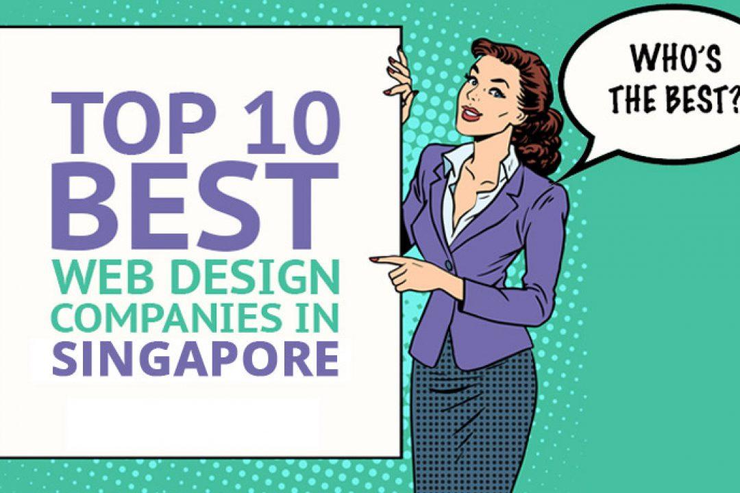 Top 10 web design companies in Singapore