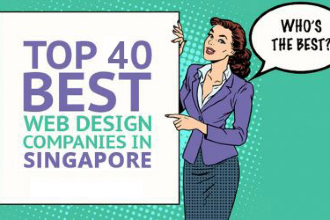 Top 40 web design companies in Singapore